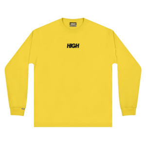 High Company LongSleeve Logo Yellow