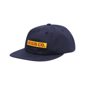 High Company 6 Panel Panini Navy
