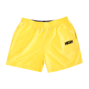 High Company Summer Short Logo Yellow