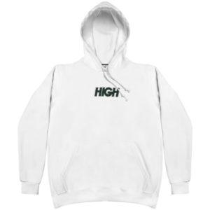High Company Hoodie Logo White Green