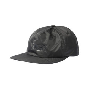 High Company   6 Panel Nylon Logo Black