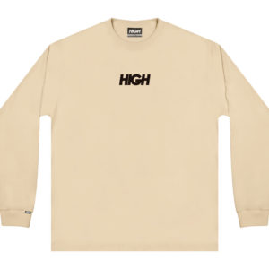 High Company Longsleeve Logo Beige