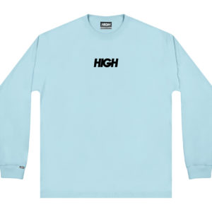 High Company Longsleeve Logo Light Blue Black