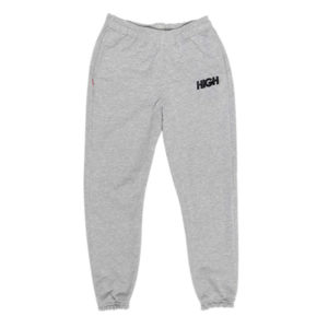 High Company Sweatpants Logo Gray Black