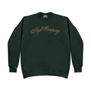 High Company Sweatshirt Spaghetti Green
