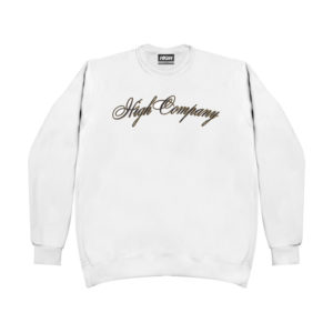 High Company Sweatshirt Spaghetti White