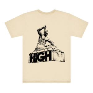 High Company Costas Tee Destruction Beige