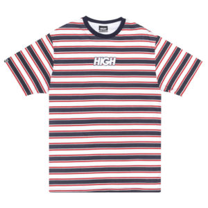 High Company Tee Kids Navy Red