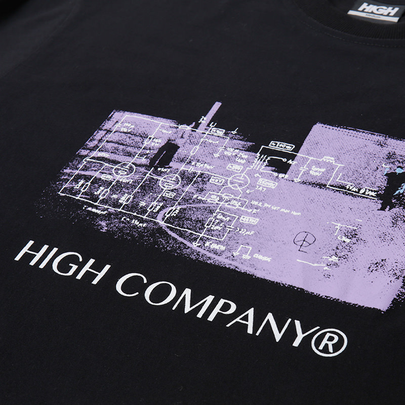 High Company Tee-Hate-Black