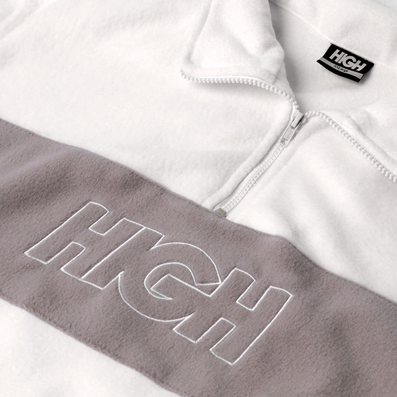 High Company Fleece White Beige